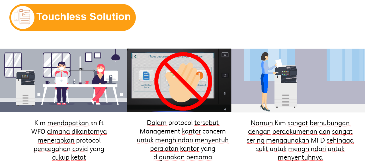 touchless solution