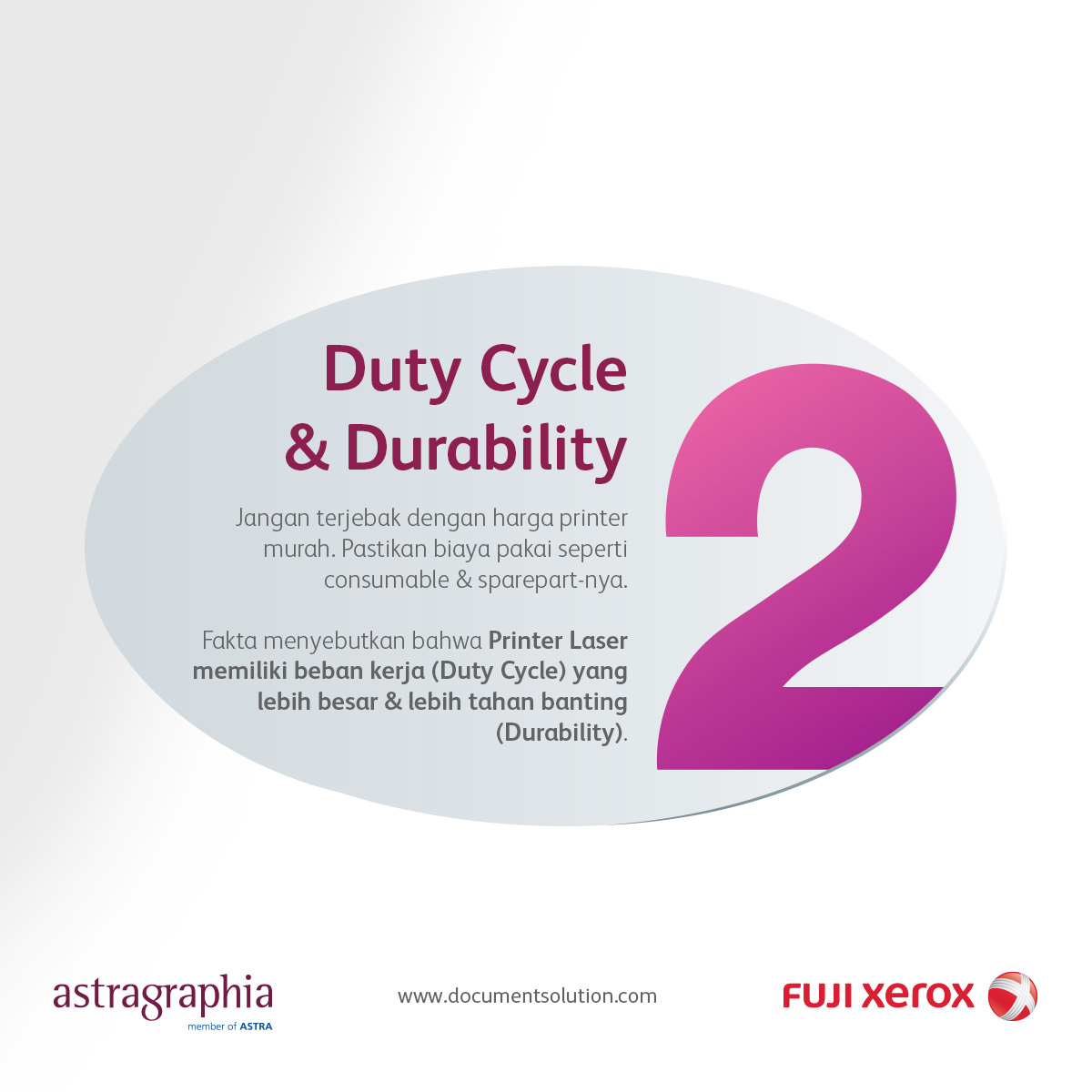 Image Tips 2 - Consumable, Duty Cycle dan Durability