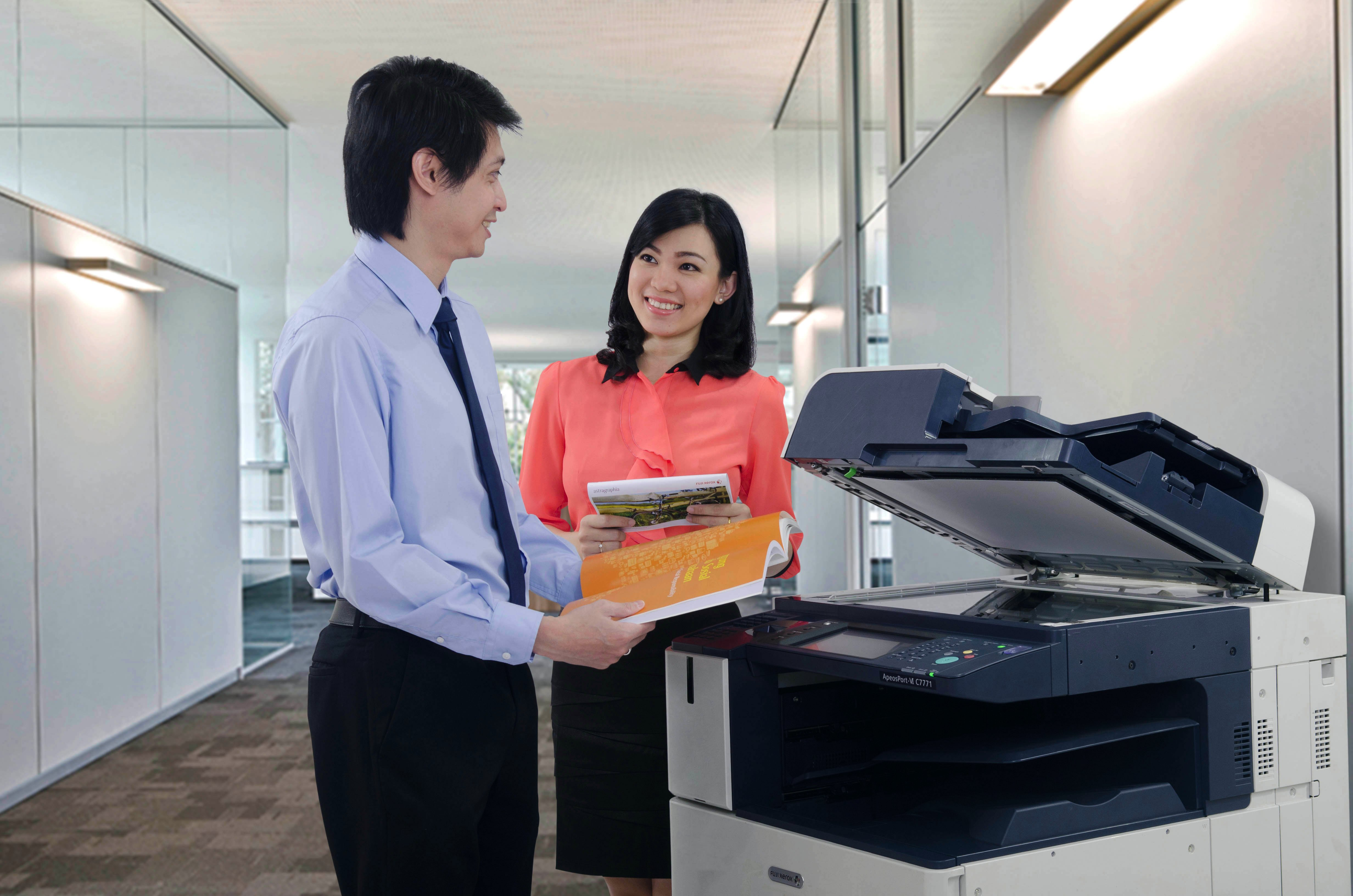 The existence of Fuji Xerox in Indonesia