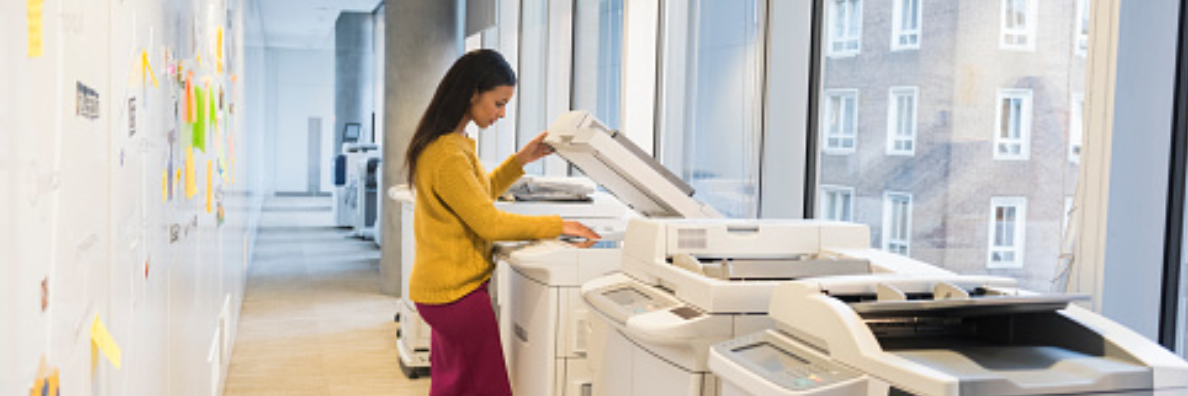 Worry Free! Touchless Solution for Multifunctional Photocopiers, Work Safely and Productively in the Office
