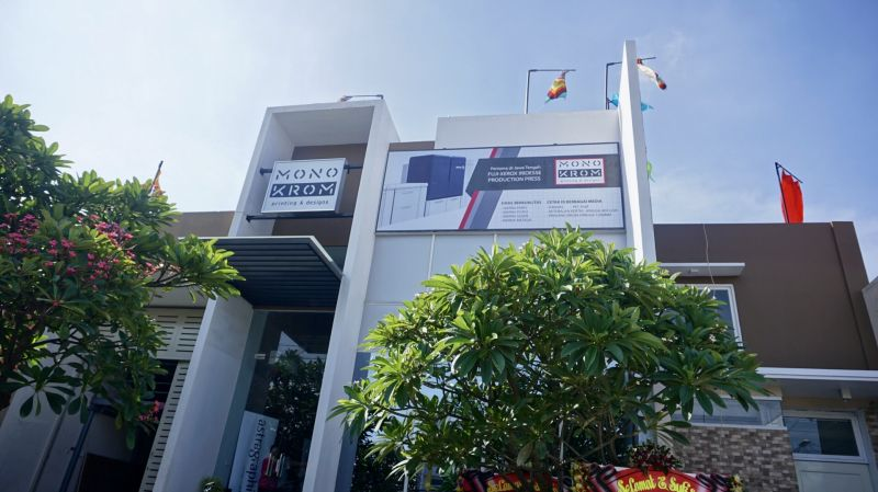Officially Opened, Monochrome Printing Semarang Leads the Fuji Xerox Iridesse ™ Production Press Machine from Astragraphia