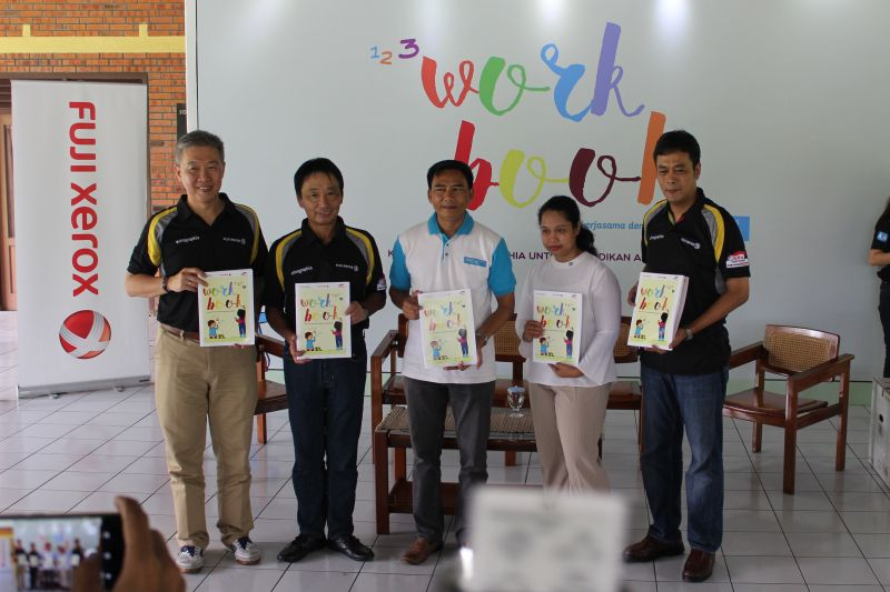 Astragraphia again continued its Phase II Workbook program, to distribute 3,500 books containing creative educational content