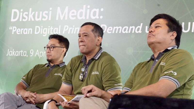 """Astragraphia Document Solution launches machines with the latest innovative technology, namely Fuji Xerox PrimeLink ™ C9065 to target MSMEs during the media discussion """"The Role of Digital Print on Demand for MSMEs."""