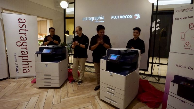 Astragraphia Document Solution launches the Fuji Xerox ApeosPort / DocuCentre-VII Series Color Multifunction Machine by applying 7 (seven) advantages in one machine