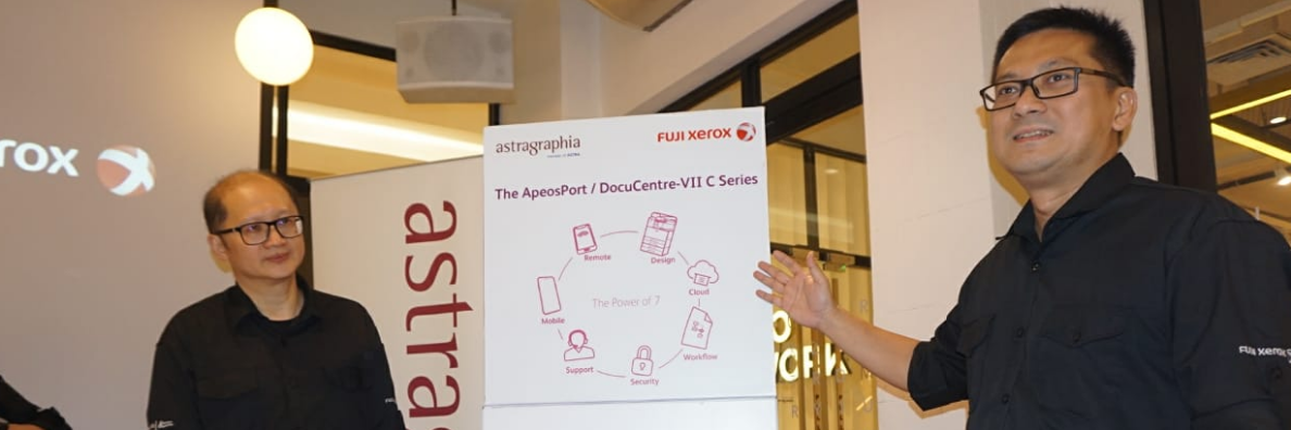 Astragraphia Document Solution Launches Multifunction Machines Fuji Xerox ApeosPort / DocuCentre – VII Series to Encourage Office Business Productivity
