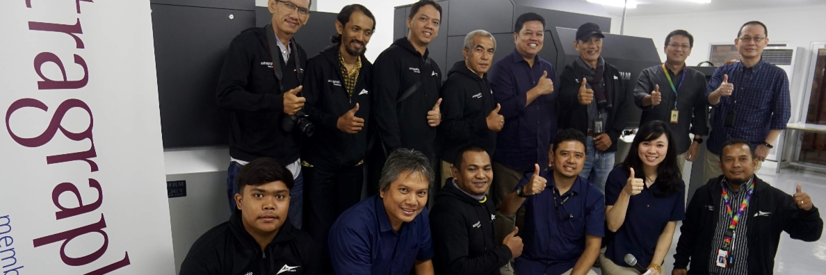 Astragraphia Expands Sales and Guarantees After Sales Service for Digital Offset Printing Machines in Indonesia