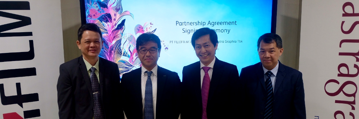FUJIFILM Trust Astragraphia to Expand Digital Offset (Jetpress) Penetration in Indonesia