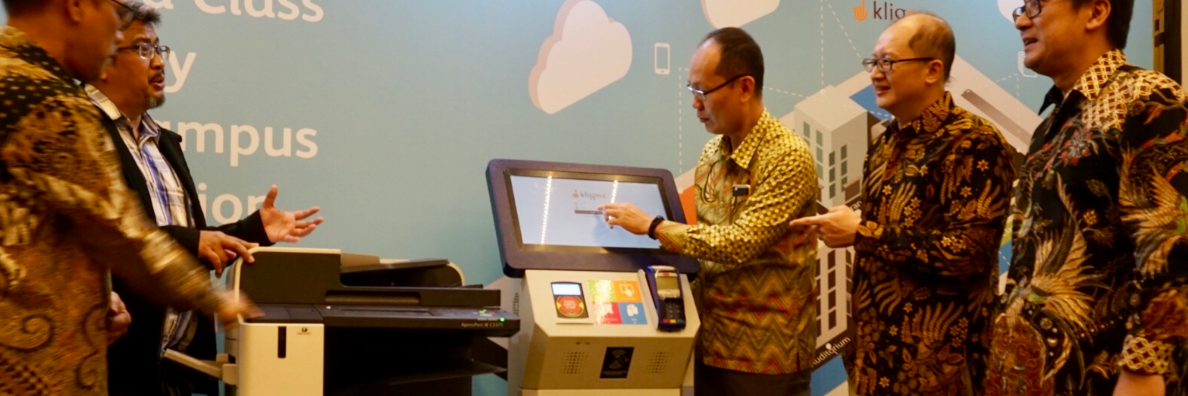 """KligMe"", On-Demand Printing Solution for Development of Education in Indonesia"