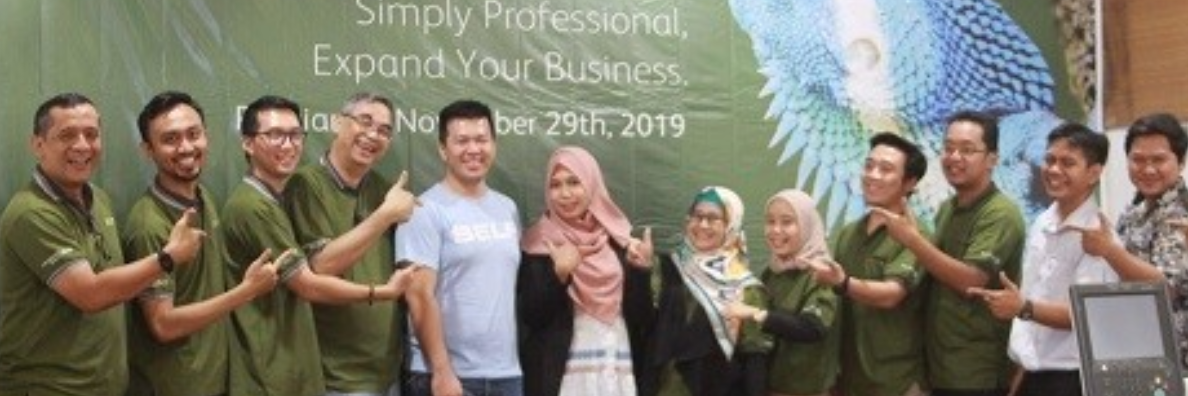"""PrimeLink C9065 Launching Gathering """"Simply Professional, Expand Your Business"""" in Pontianak"""