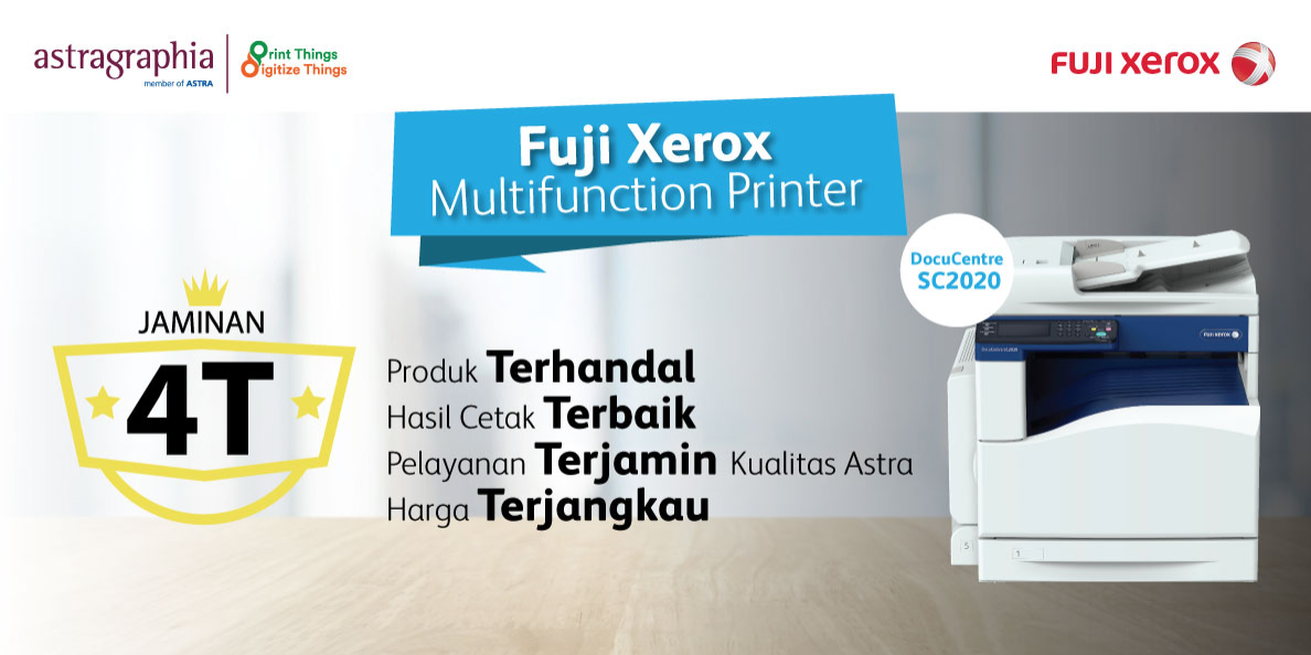 Promo Fuji Xerox: Trade-In Vaganza